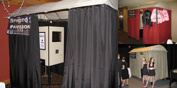 The photo stand you can rent from Photo Booth Rentals of Winnipeg.